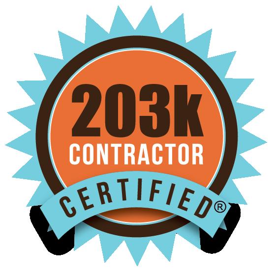 HUD/FHA 203k Certified Contractors